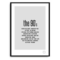Poster - Remember the 90s