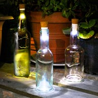Flaskelampe - Bottle light