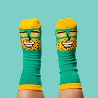ChattyFeet Barnesokker – Commander Awesome