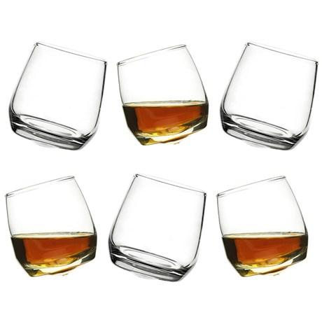 Sagaform – Whiskyglass med avrundet bunn (6-pkn)
