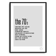 Poster - Remember the 70s