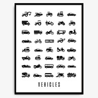 Poster - Vehicles