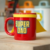 Krus med kappe - Super Dad