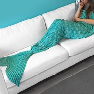 Havfrue-pledd - Mermaid Blanket